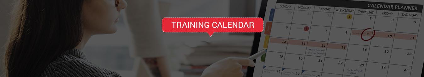 infosectrain training calendar