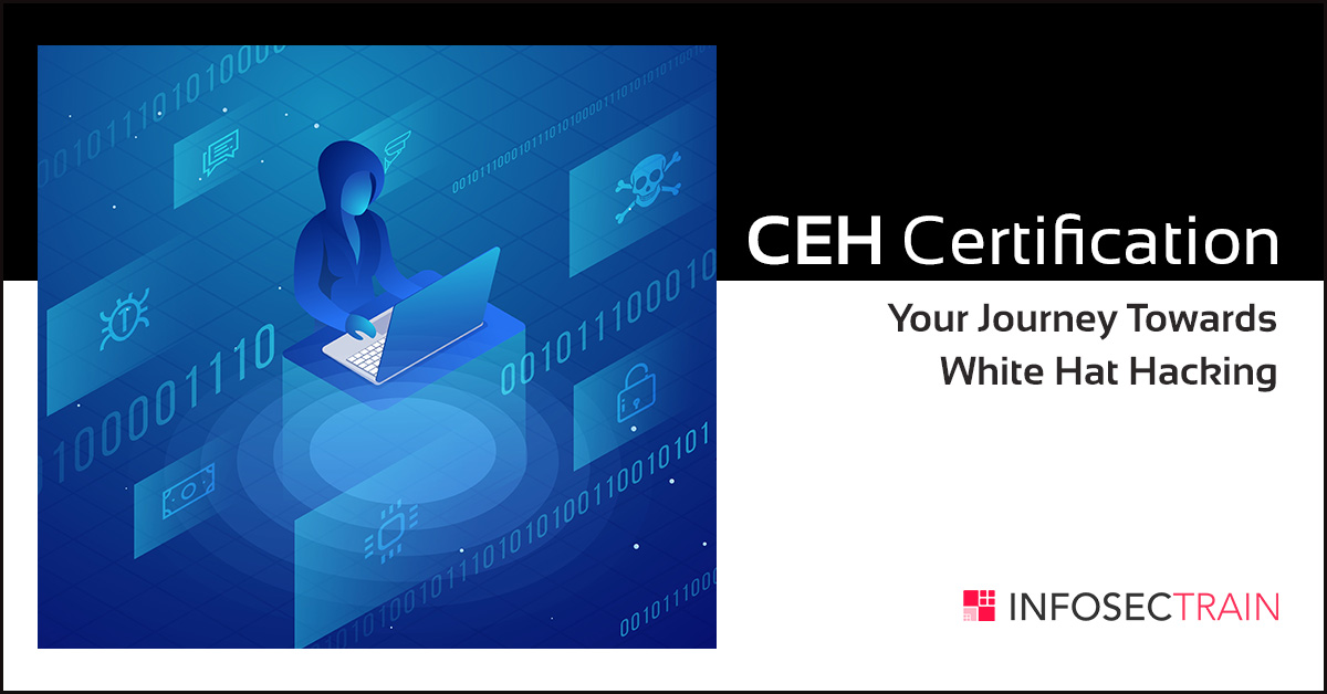 ceh hat certification hacking towards journey infosectrain hacker steps