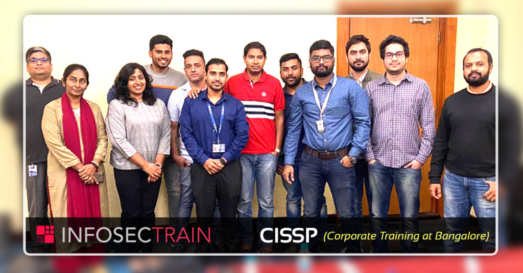 CISSP Corporate Training at Bangalore