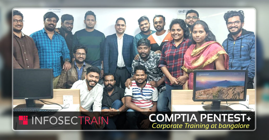 CompTIA PenTest+ Corporate Training at Bangalore