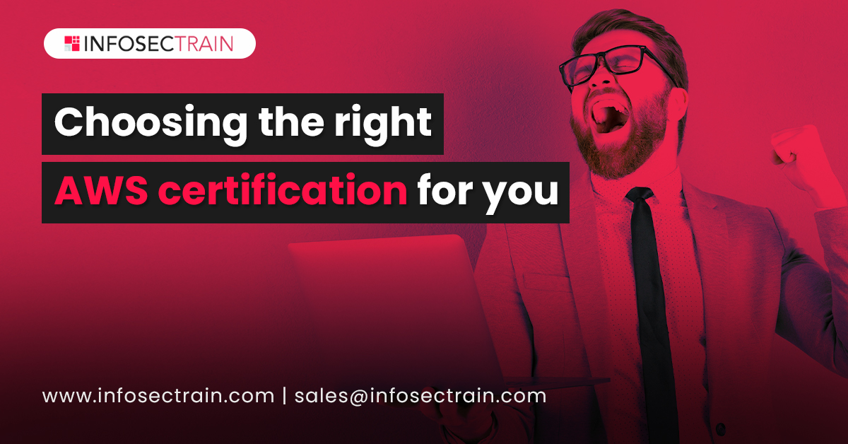 Choosing the right AWS certification for you