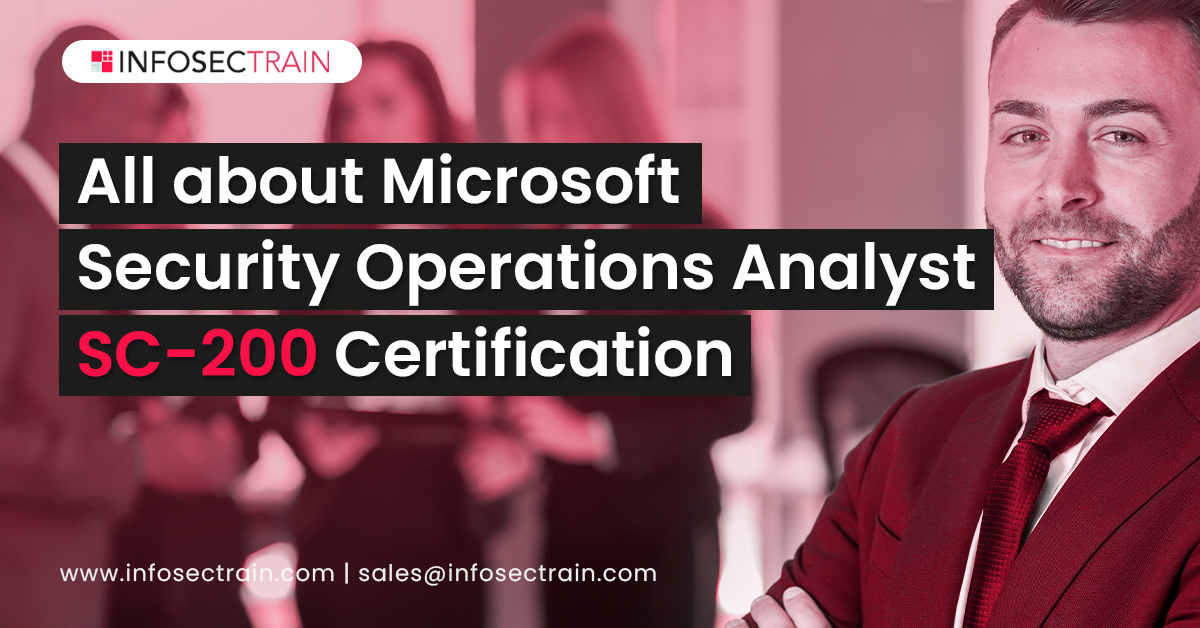 All about Microsoft Security Operations Analyst SC-200 Certification